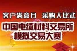 中国电缆交易所模拟交易大赛