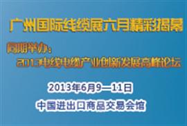 2013广州国际线缆展 六月精彩揭幕